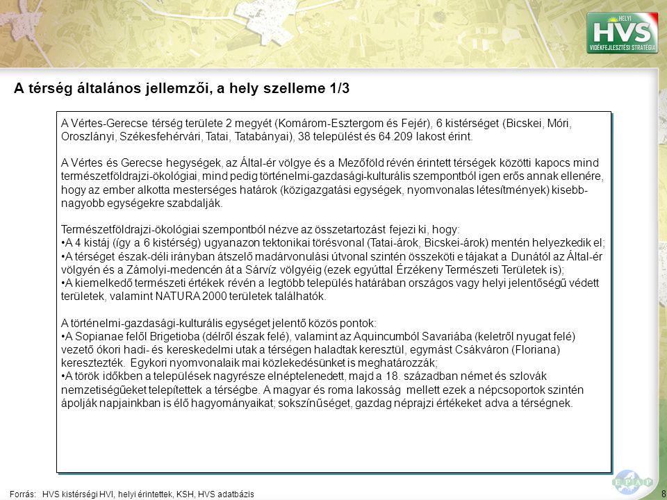 A térség általános jellemzői, a hely szelleme 2/3