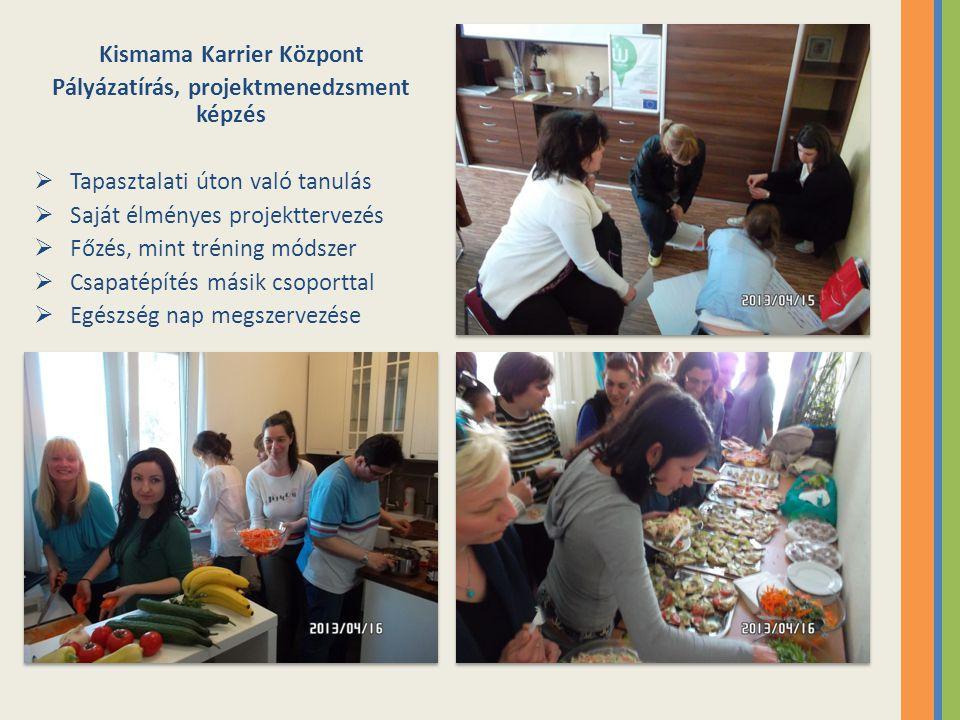 Kismama Karrier Központ Pályázatírás, projektmenedzsment képzés