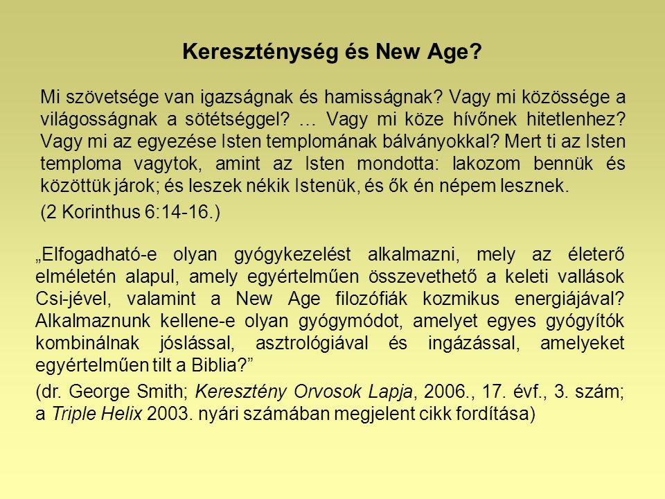 Kereszténység és New Age