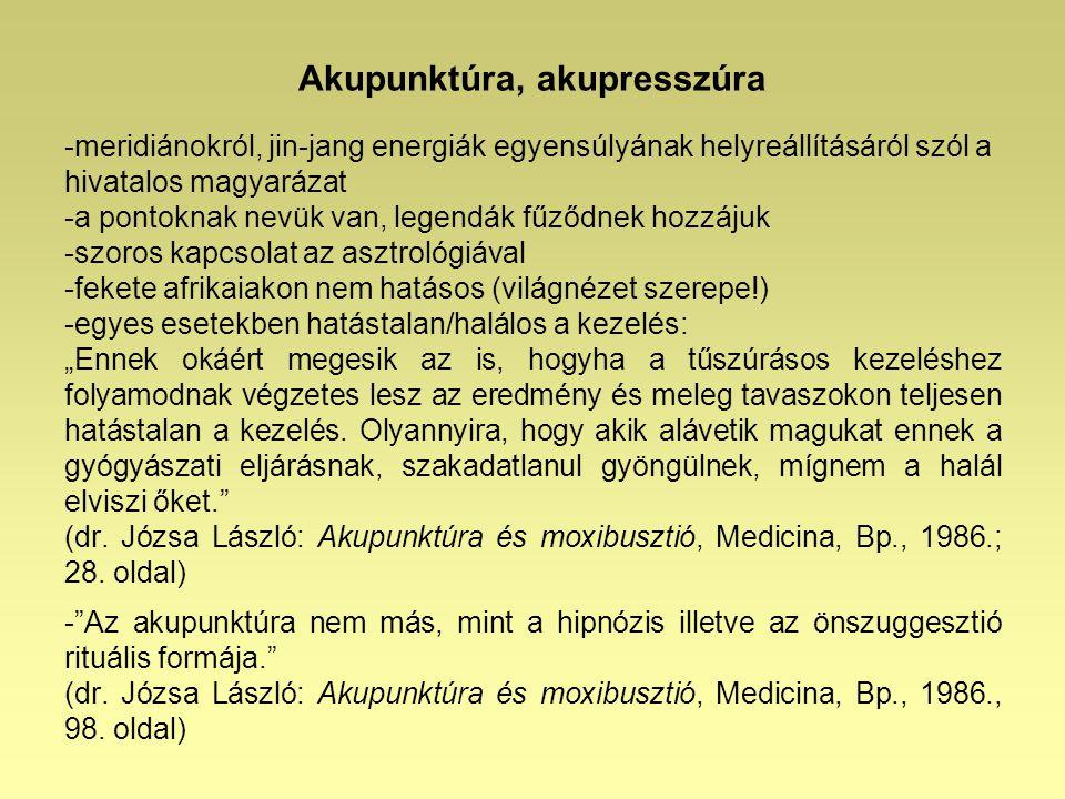 Akupunktúra, akupresszúra
