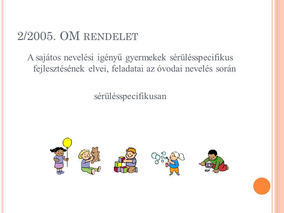 2/2005. OM rendelet