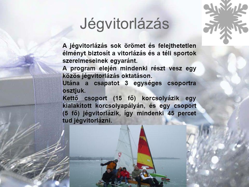 Jégvitorlázás A jégvitorlázás sok örömet és felejthetetlen élményt biztosít a vitorlázás és a téli sportok szerelmeseinek egyaránt.