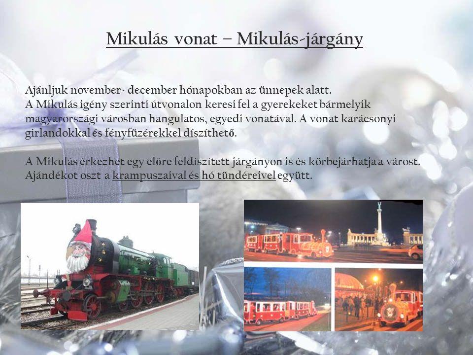 Mikulás vonat – Mikulás-járgány