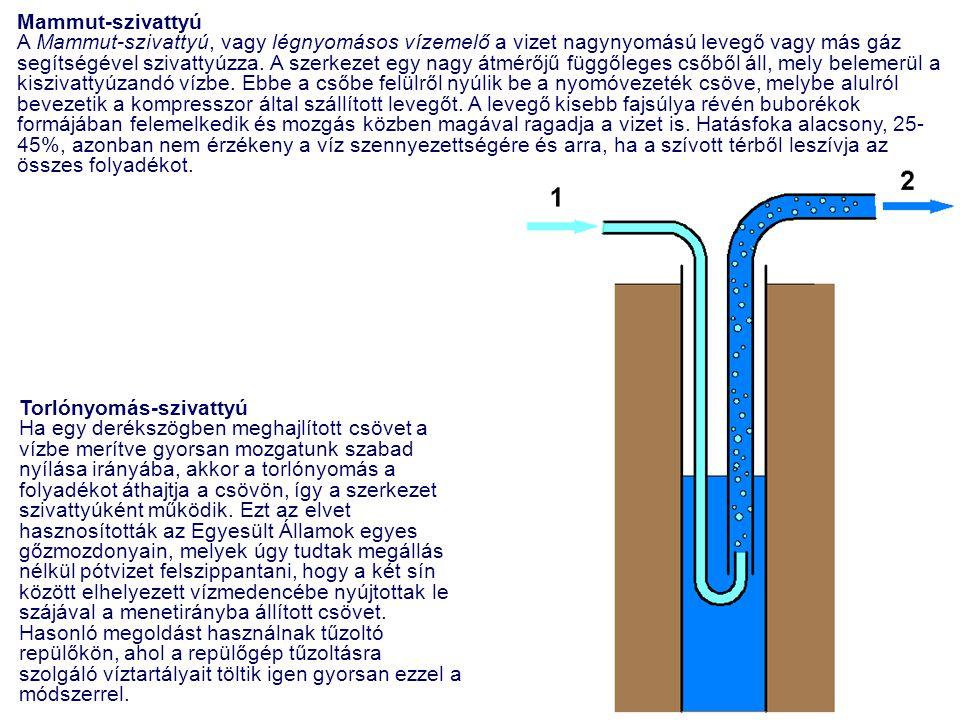 Mammut-szivattyú