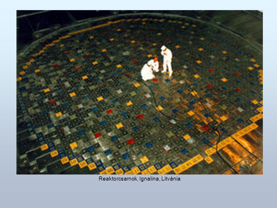 Reaktorcsarnok, Ignalina, Litvánia