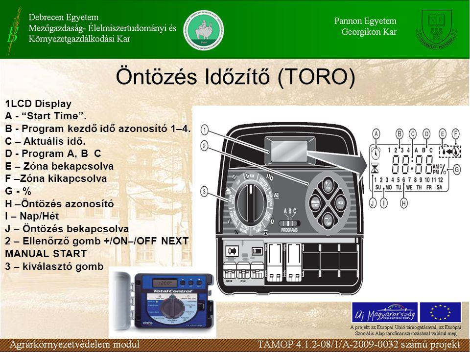 Öntözés Időzítő (TORO)