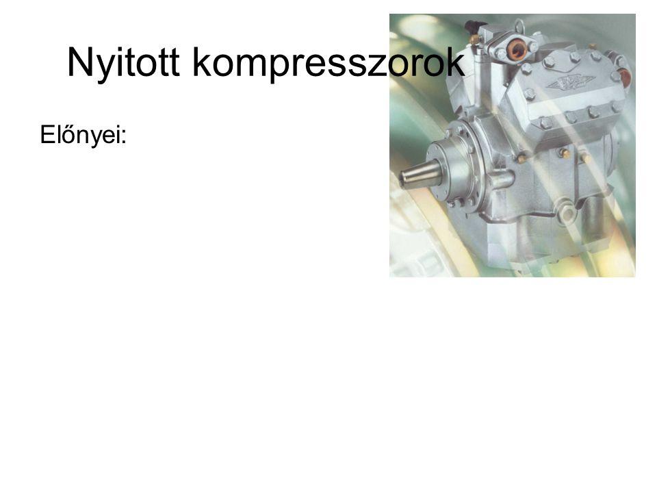 Nyitott kompresszorok