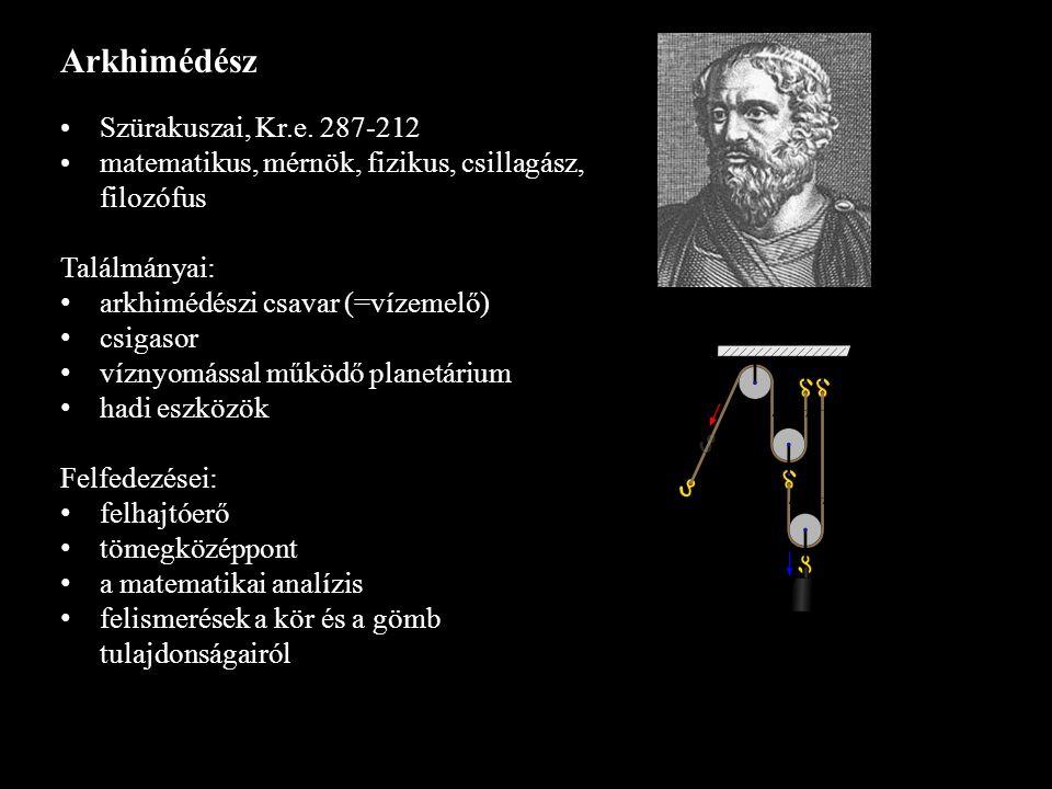 Arkhimédész Szürakuszai, Kr.e. 287-212