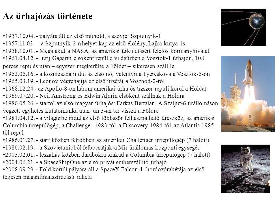 Az űrhajózás története