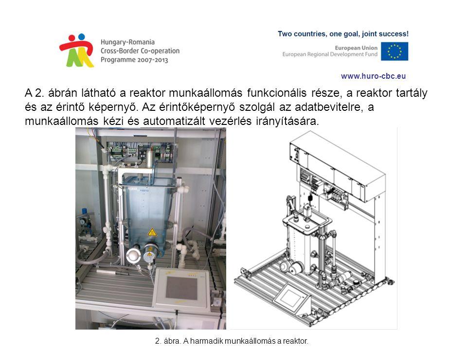 2. ábra. A harmadik munkaállomás a reaktor.