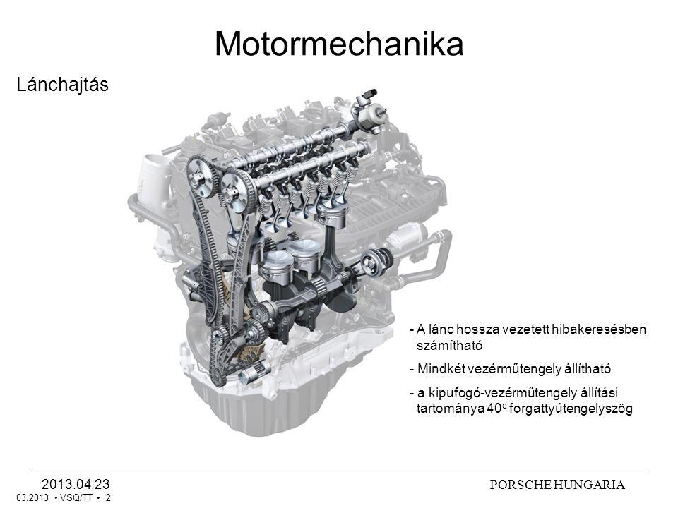 Motormechanika Lánchajtás