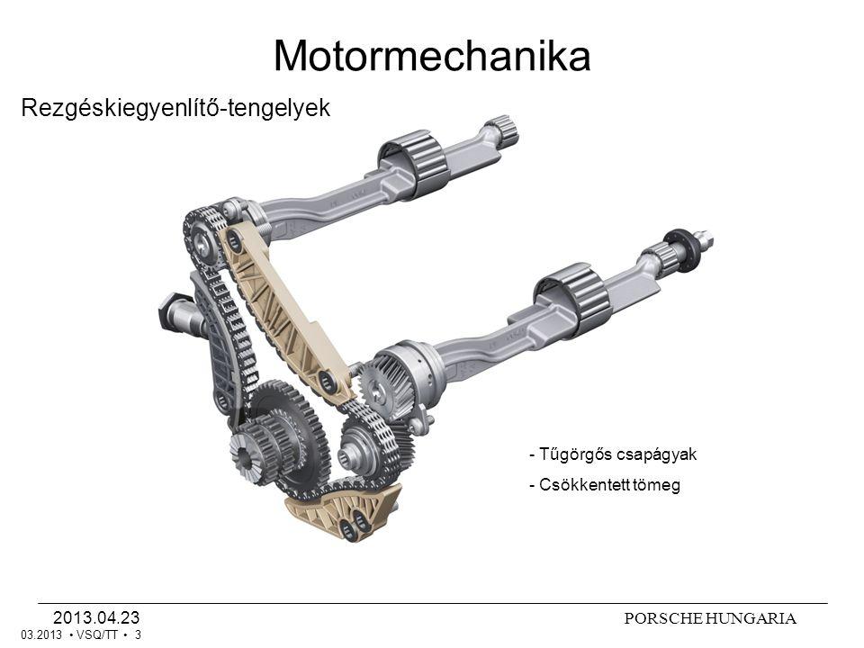 Motormechanika Rezgéskiegyenlítő-tengelyek - Tűgörgős csapágyak