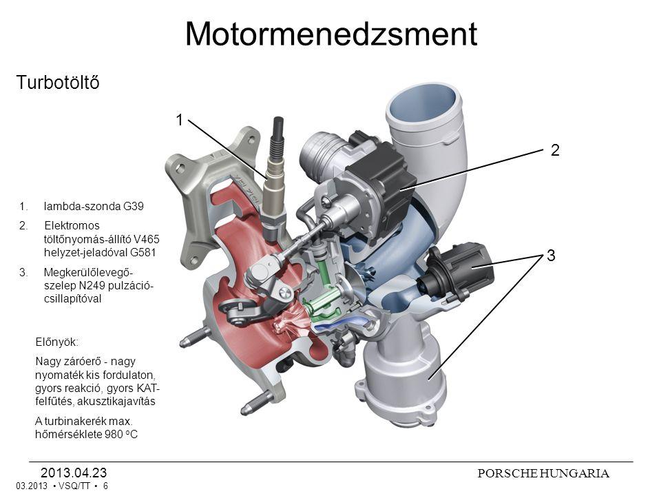 Motormenedzsment Turbotöltő 1 2 3 2013.04.23 lambda-szonda G39