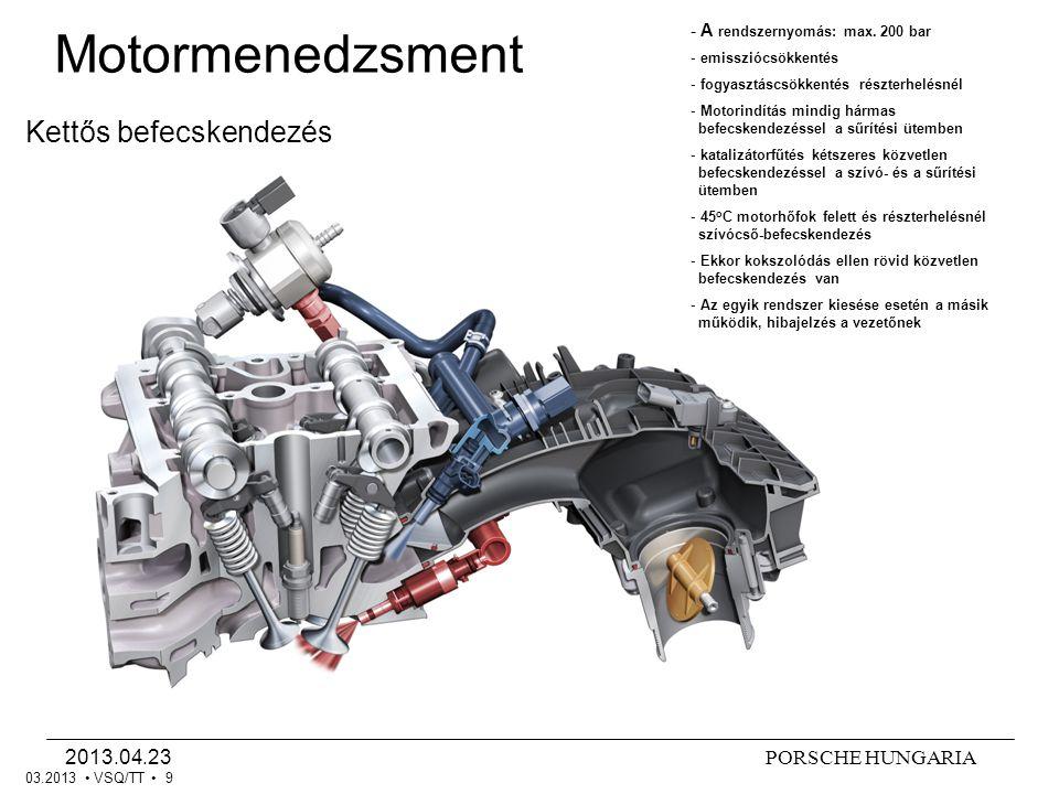 Motormenedzsment Kettős befecskendezés 2013.04.23