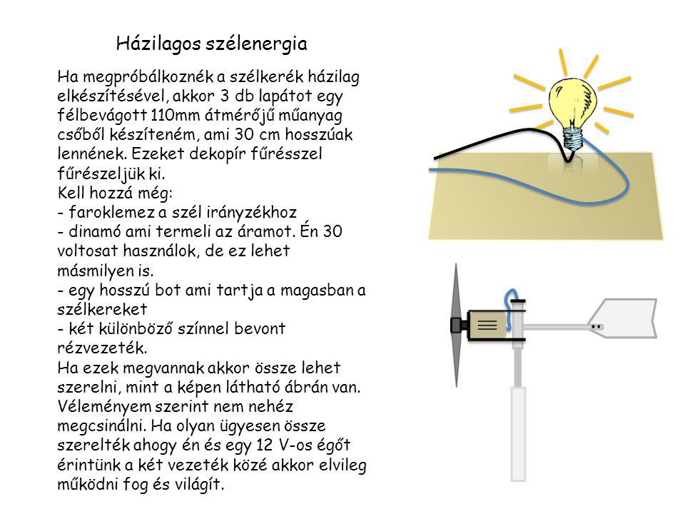 Házilagos szélenergia