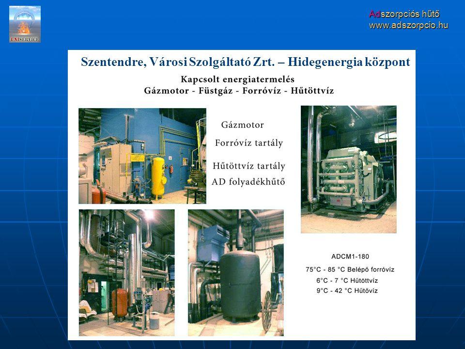 Szentendre, Városi Szolgáltató Zrt. – Hidegenergia központ