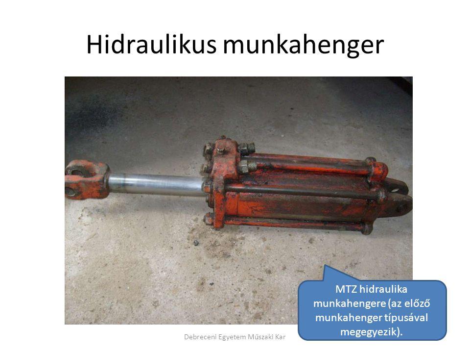 Hidraulikus munkahenger