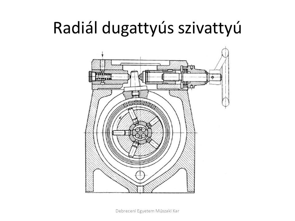 Radiál dugattyús szivattyú