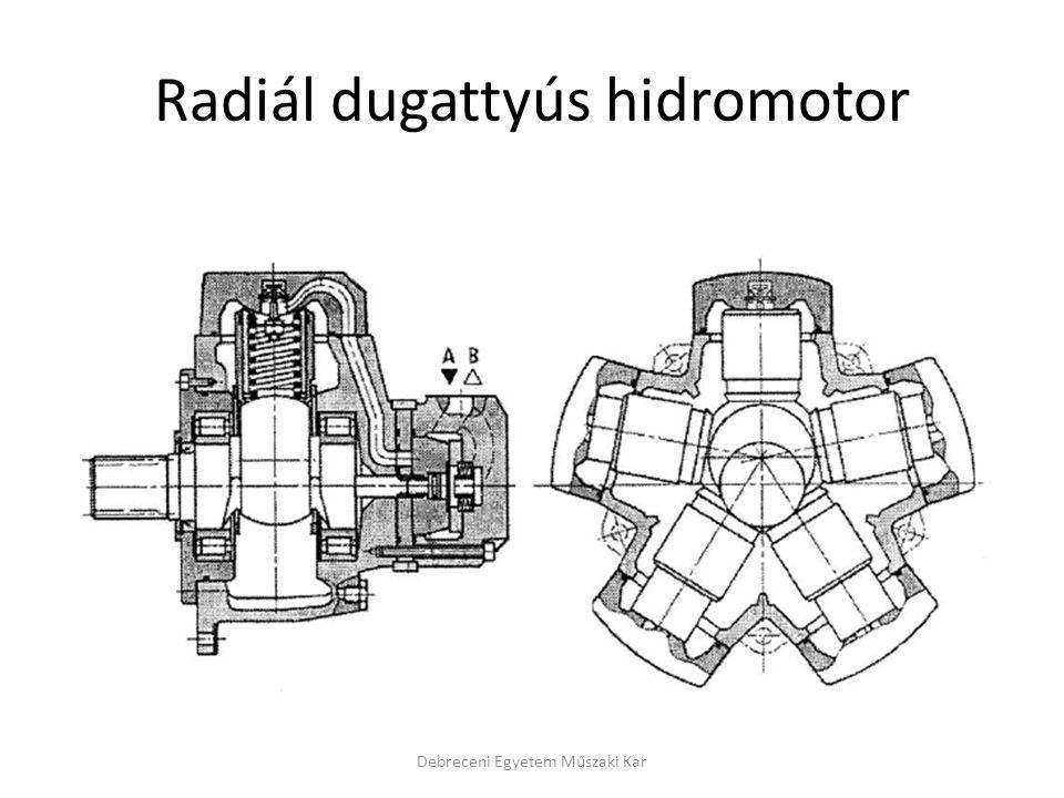 Radiál dugattyús hidromotor
