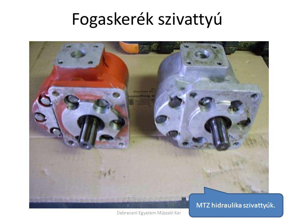 Fogaskerék szivattyú MTZ hidraulika szivattyúk.