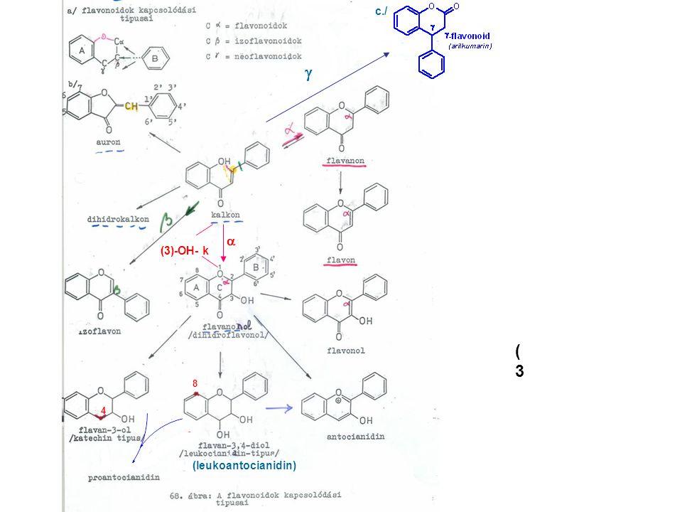 c./ g a (3)-OH- k (3 8 4 (leukoantocianidin)