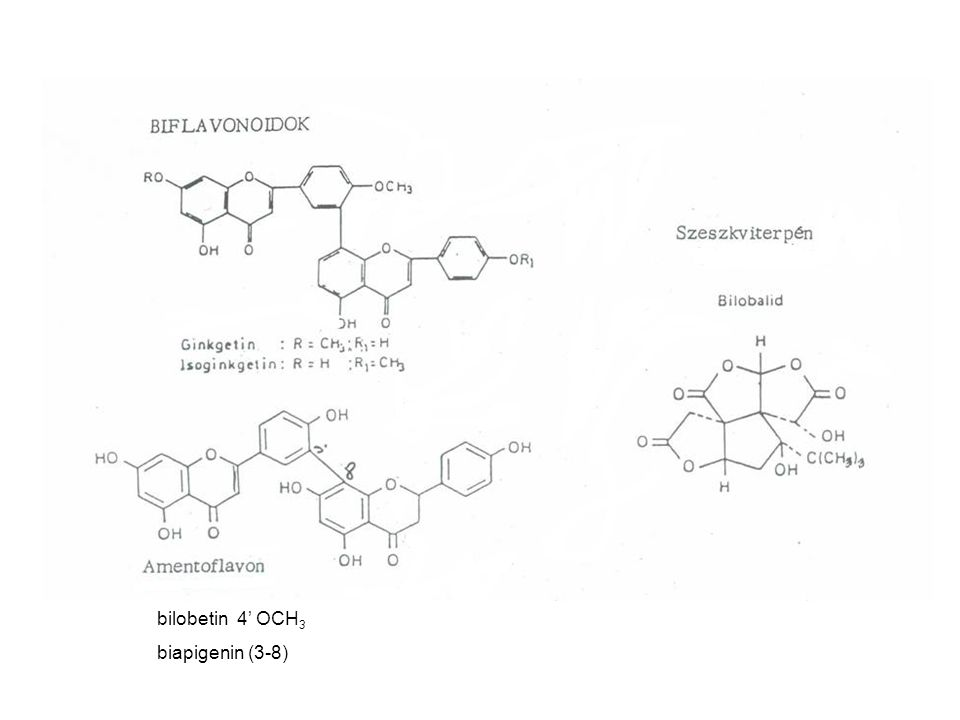 bilobetin 4' OCH3 biapigenin (3-8)