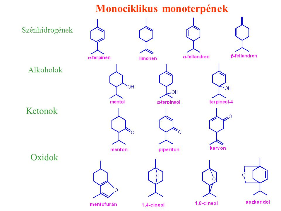 Monociklikus monoterpének