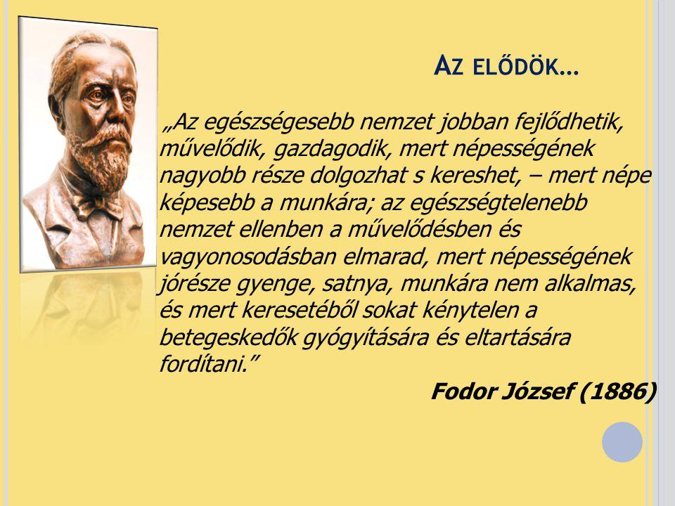 Az elődök… Fodor József (1886)