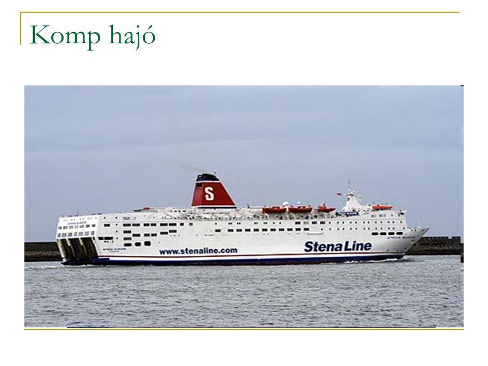 Komp hajó