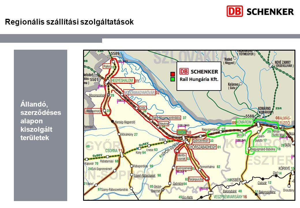 Regionális szállítási szolgáltatások