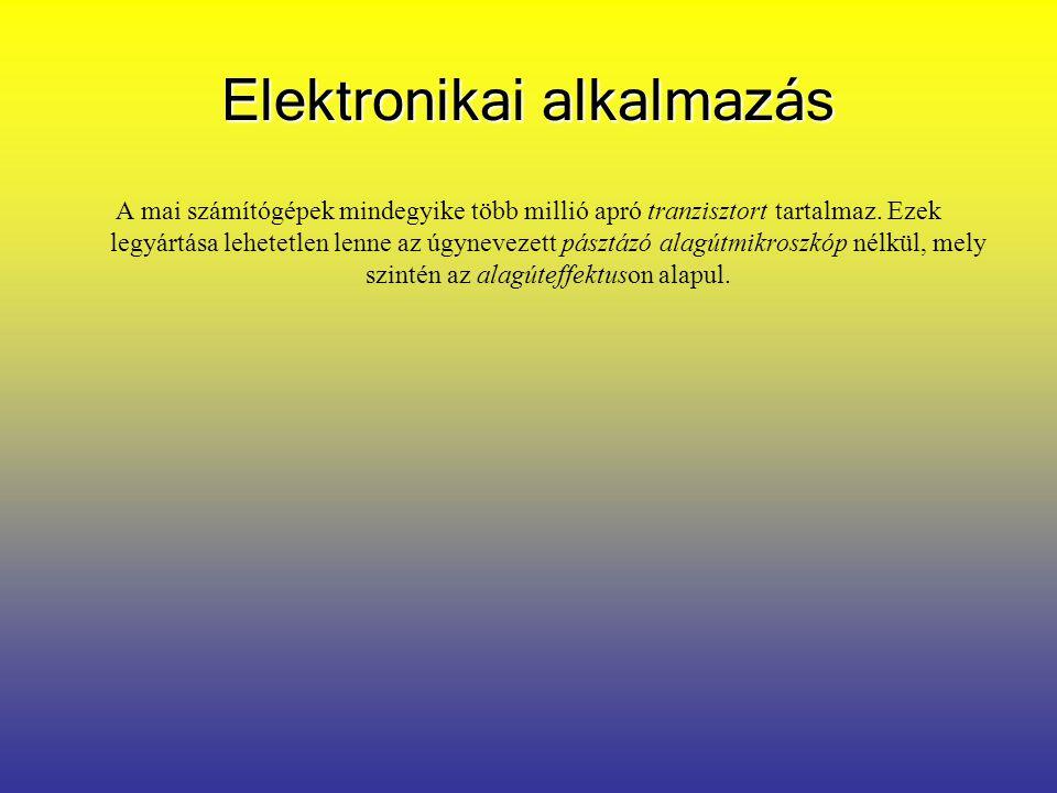 Elektronikai alkalmazás