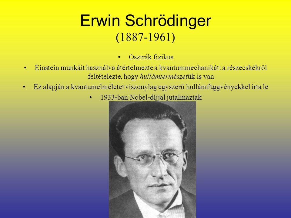 1933-ban Nobel-díjjal jutalmazták