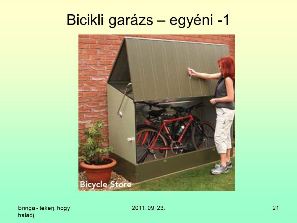 Bicikli garázs – egyéni -1