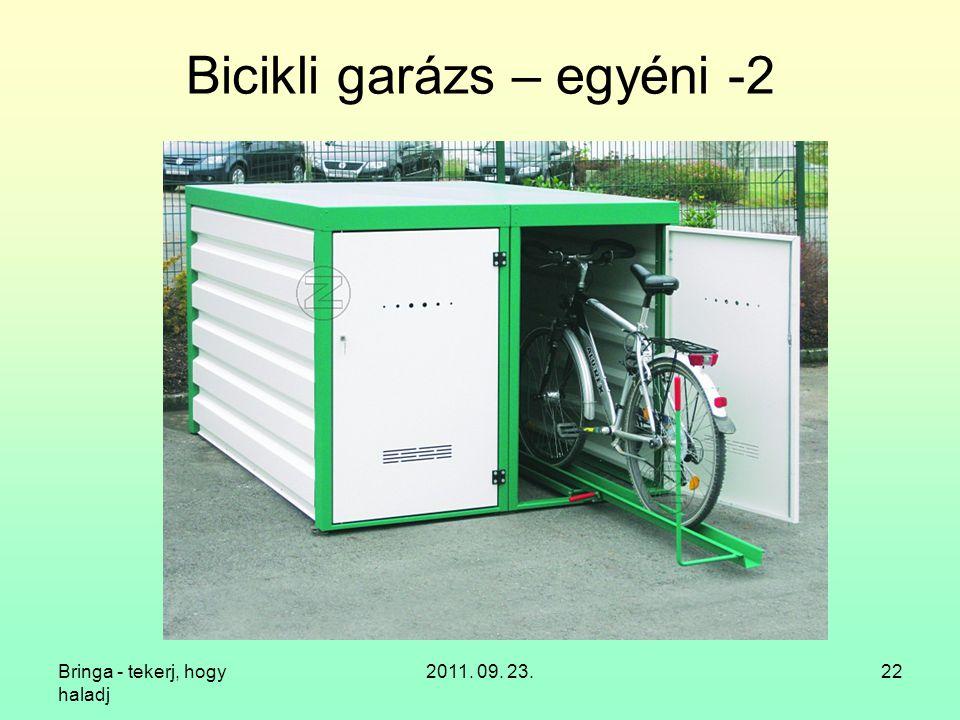 Bicikli garázs – egyéni -2
