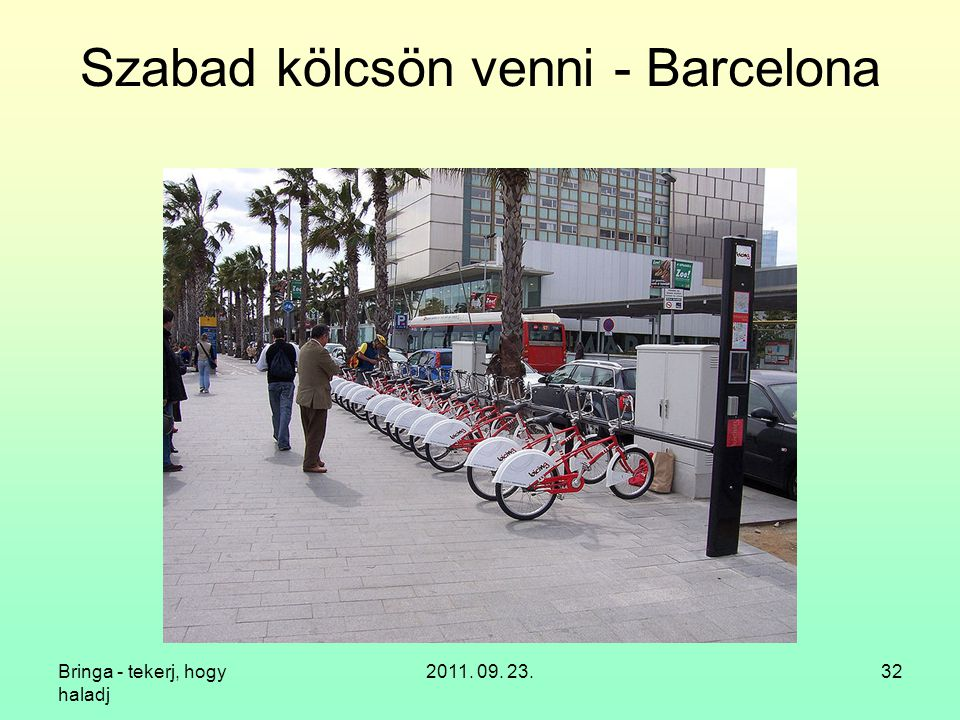 Szabad kölcsön venni - Barcelona