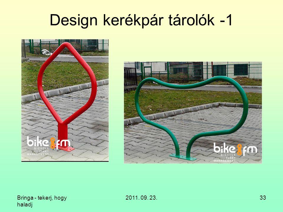 Design kerékpár tárolók -1