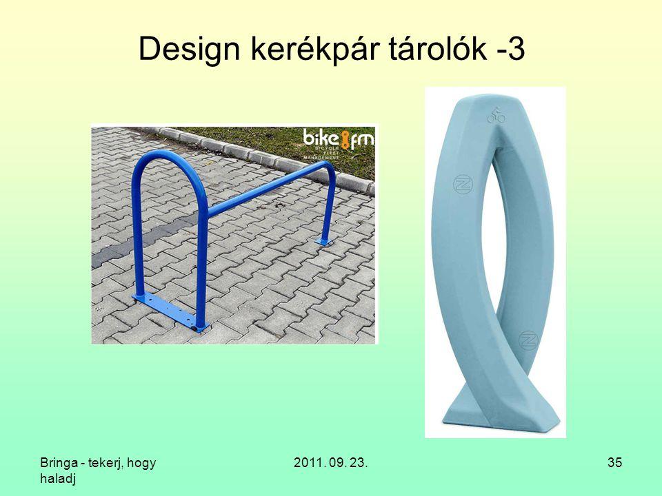 Design kerékpár tárolók -3