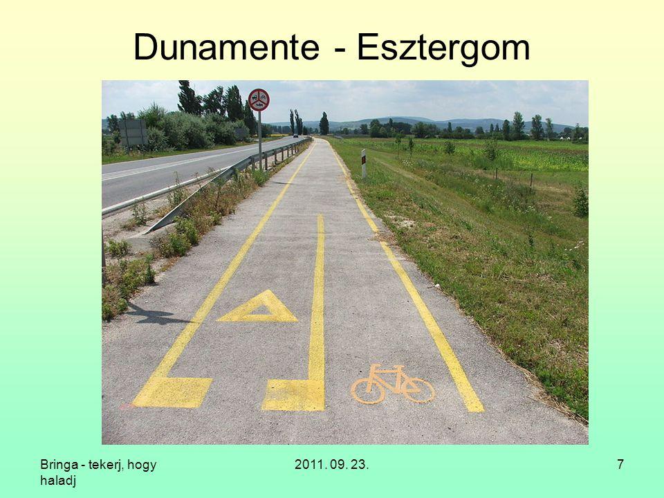 Dunamente - Esztergom Bringa - tekerj, hogy haladj 2011. 09. 23.