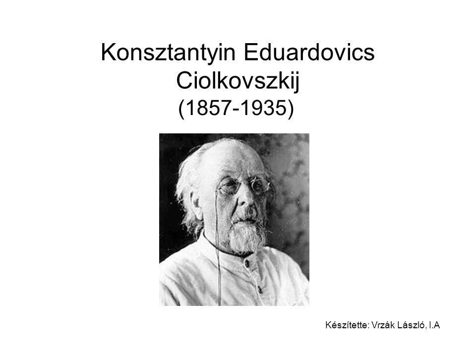 Konsztantyin Eduardovics Ciolkovszkij