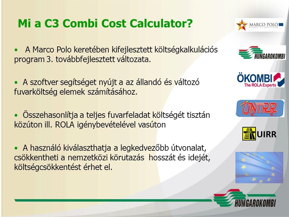 Mi a C3 Combi Cost Calculator
