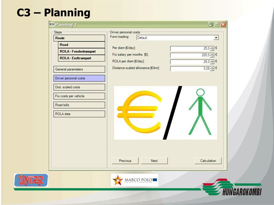 HUNGAROKOMBI C3 – Planning 27.08.2009 19
