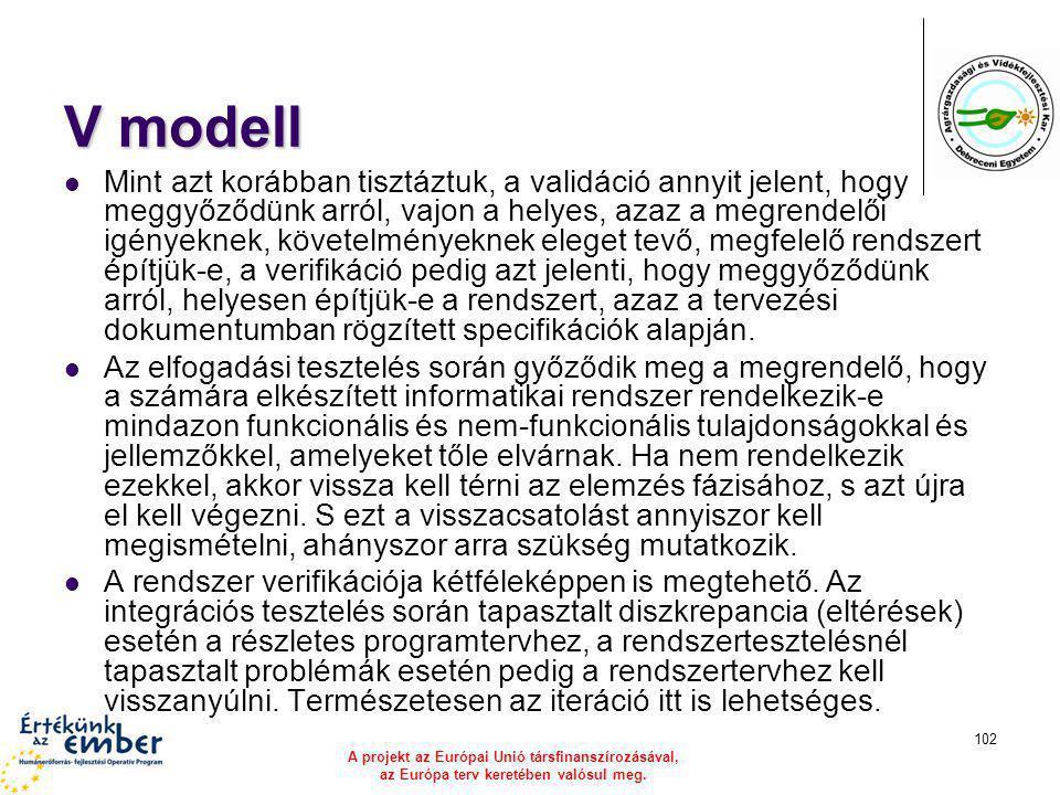 V modell
