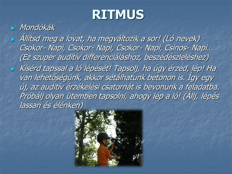 RITMUS Mondókák.