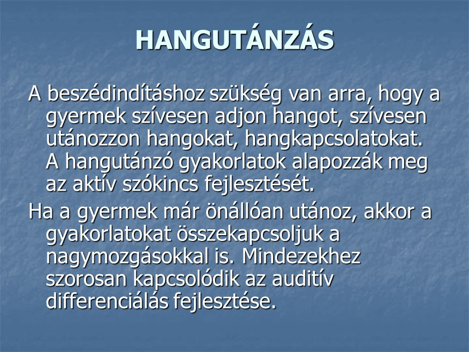 HANGUTÁNZÁS