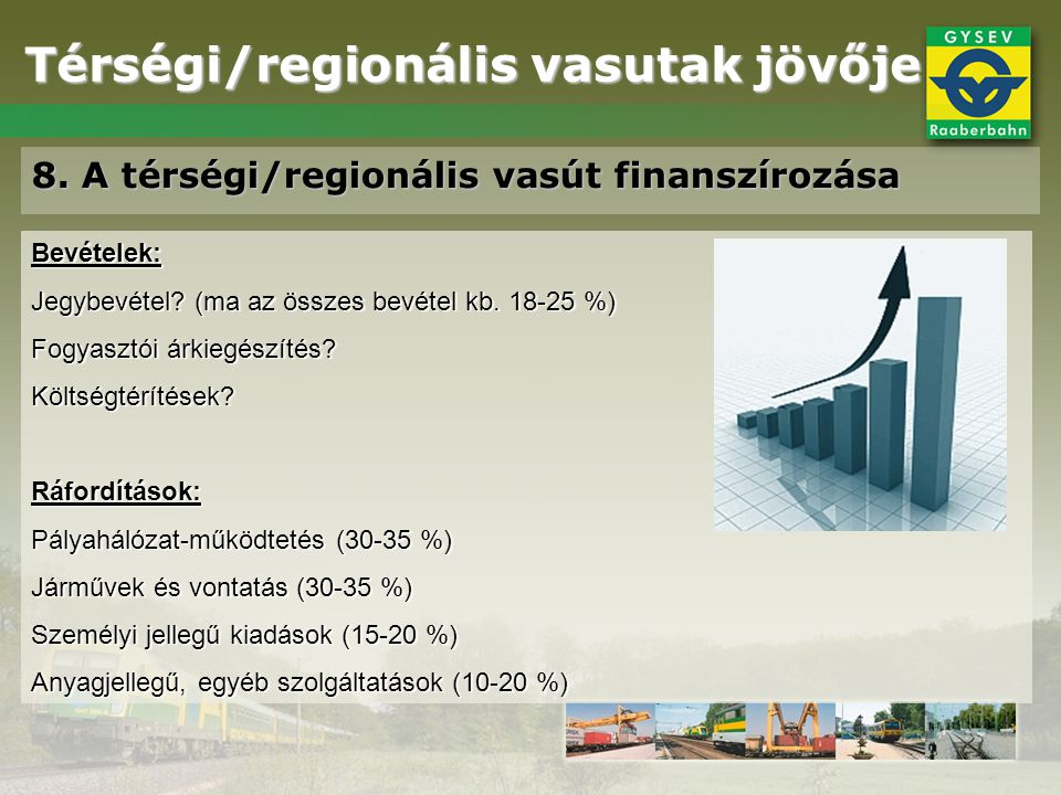 Térségi/regionális vasutak jövője