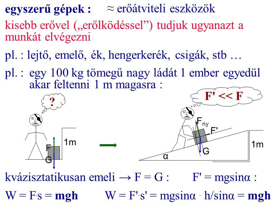 ≈ erőátviteli eszközök