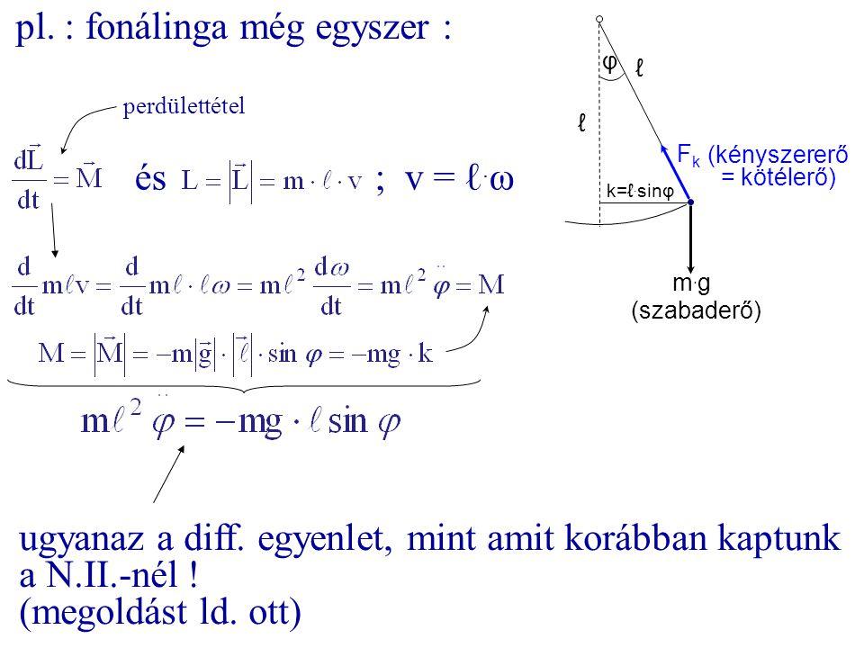 pl. : fonálinga még egyszer :