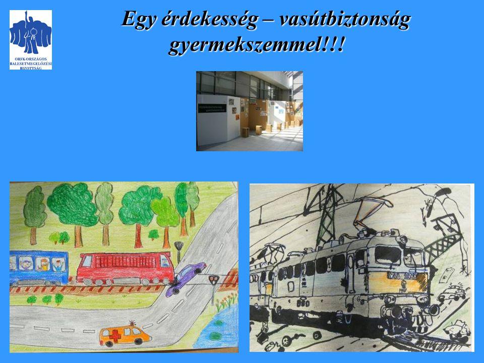 Egy érdekesség – vasútbiztonság gyermekszemmel!!!