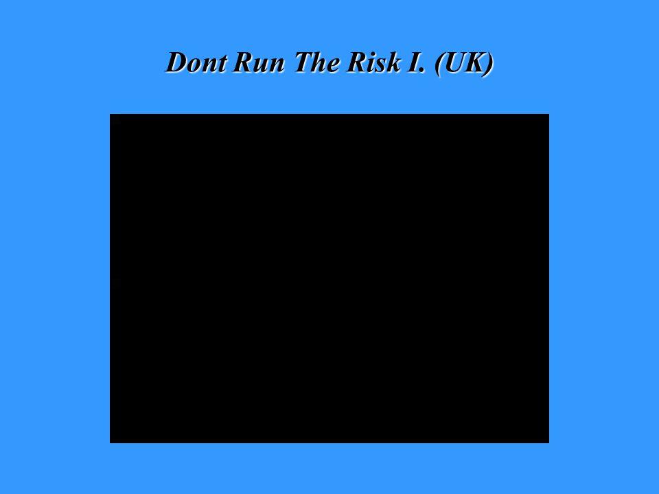 Dont Run The Risk I. (UK)