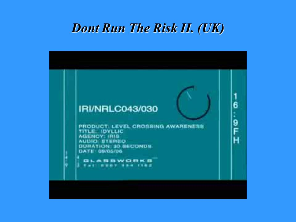 Dont Run The Risk II. (UK)